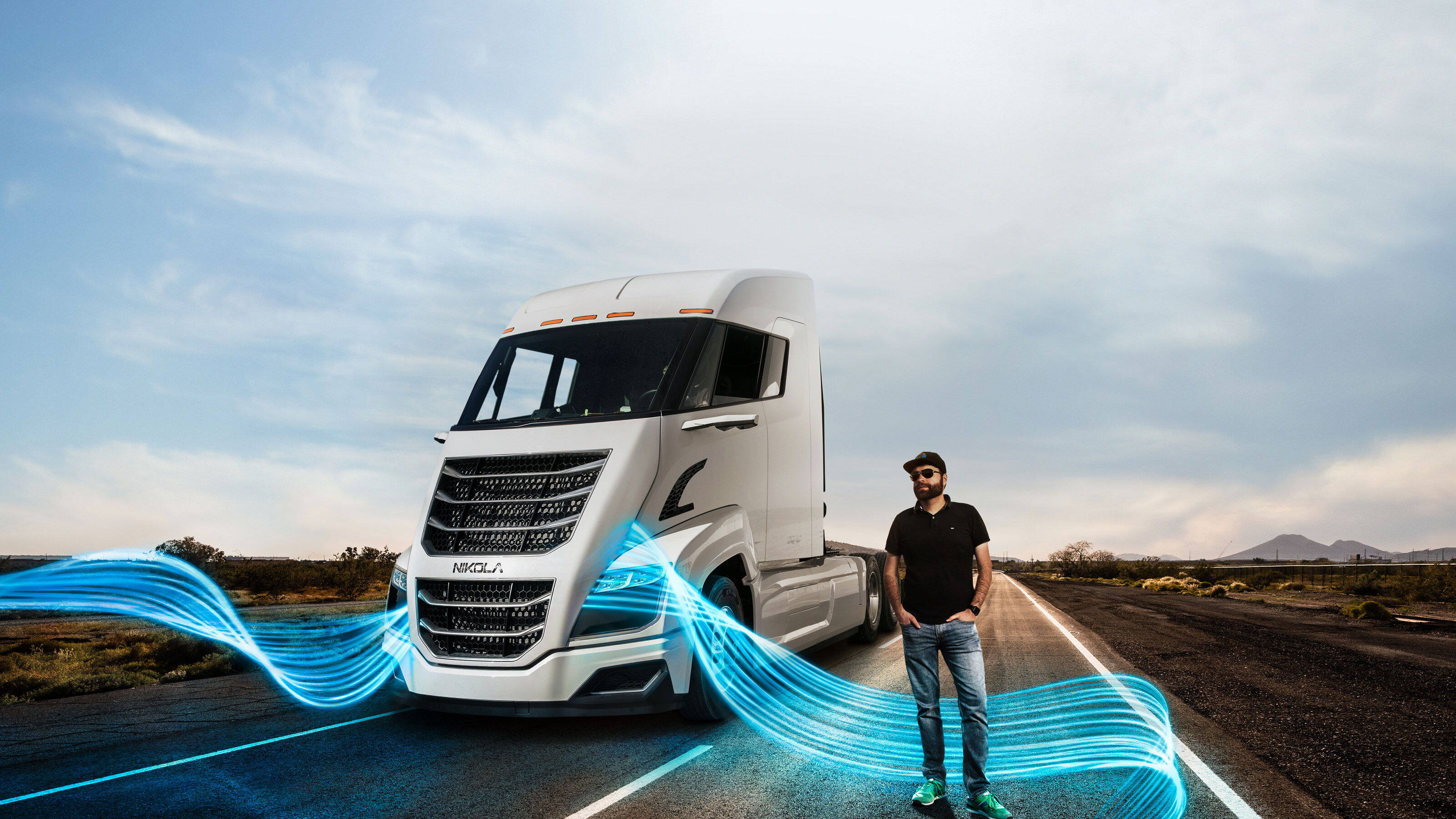 Fuel cell truck with Bosch technology | Bosch Global
