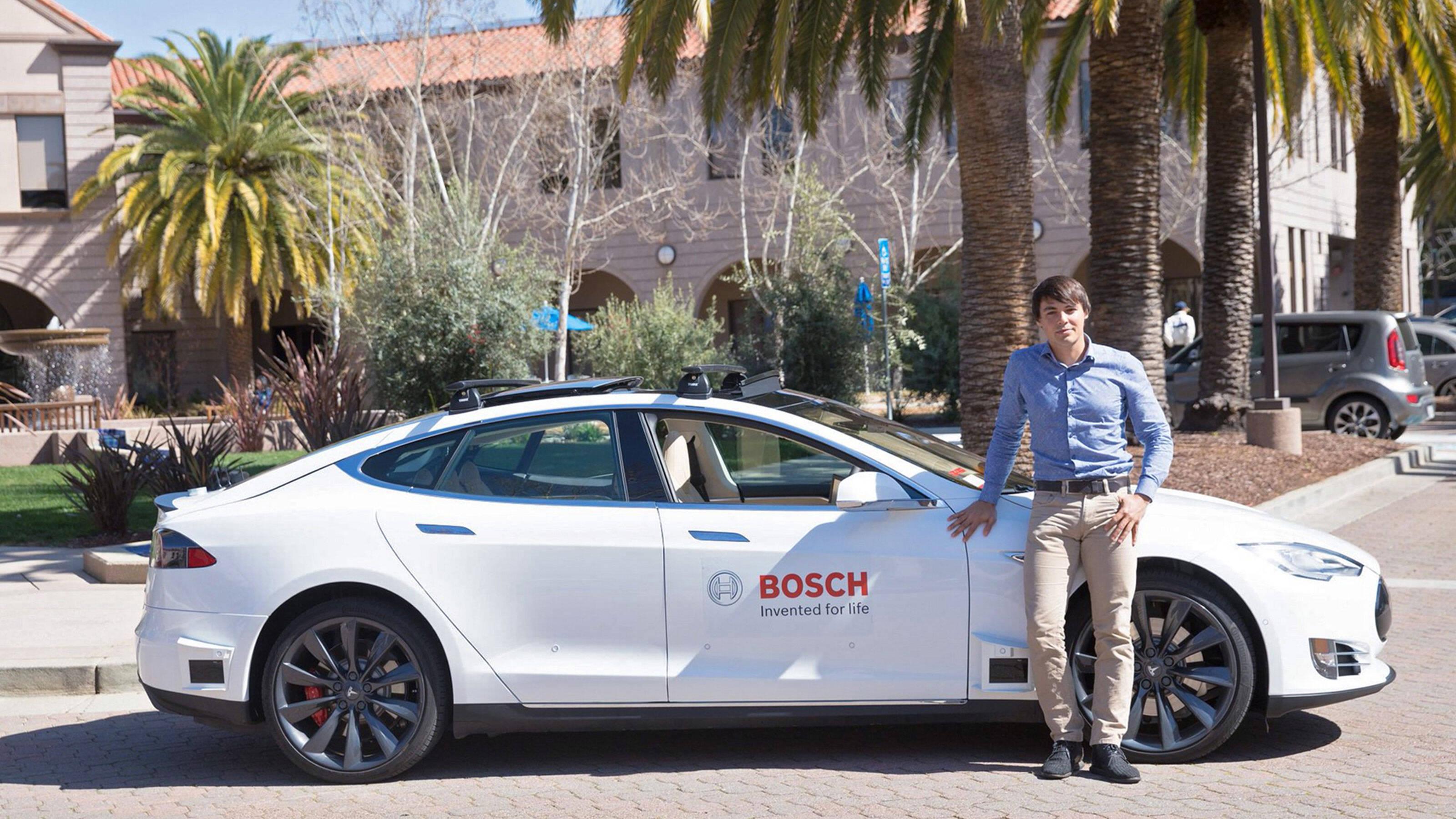 Self-driving car technology | Bosch Global